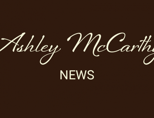 A new website for Ashley McCarthy
