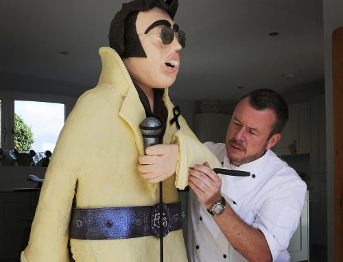 York chef patron turned chocolatier Ashley McCarthy was recently tasked with the challenge of making Elvis Presley out of chocolate!